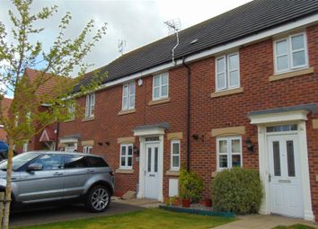 Thumbnail 3 bed terraced house to rent in Walter Close, Great Glen, Leicester