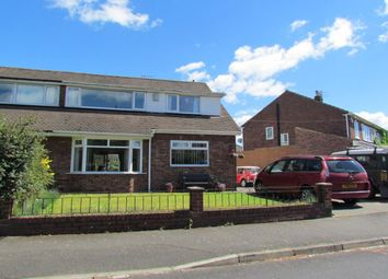 Thumbnail 4 bedroom semi-detached house for sale in Princes Road, Brunton Park, Gosforth