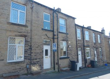 Thumbnail 1 bed terraced house for sale in Centre Street, Heckmondwike, West Yorkshire.