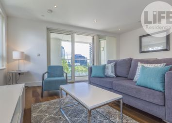 Thumbnail 3 bed flat to rent in Talisman Tower, 6 Lincoln Plaza, London
