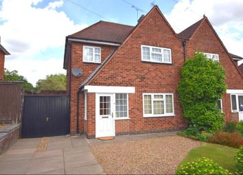 Thumbnail 3 bed semi-detached house for sale in Oakfield Avenue, Birstall, Leicester