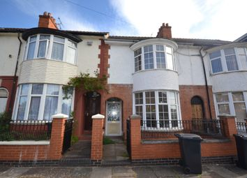 Thumbnail 4 bedroom terraced house to rent in Kimberley Road, Leicester