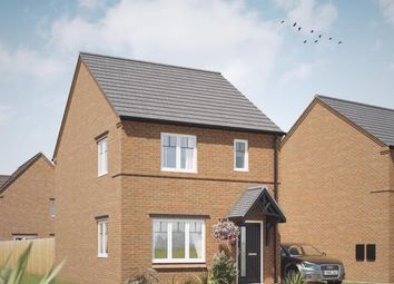 Thumbnail 3 bed detached house for sale in The Acres, Acresford Road, Overseal, Derbyshire