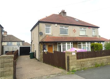 Thumbnail 3 bed semi-detached house for sale in Poplar Grove, Bradford, West Yorkshire