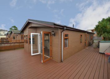 Thumbnail 3 bed lodge for sale in Oakcliff Park, Mount Pleasant Road, Dawlish Warren, Dawlish