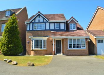 Thumbnail 4 bed detached house for sale in Greendale Drive, Radcliffe