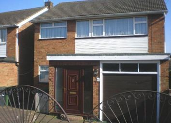 Thumbnail 3 bed detached house to rent in St Peters Walk, Yaxley, Peterborough