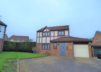 Thumbnail 3 bed detached house for sale in Darden Close, Killingworth, Newcastle Upon Tyne