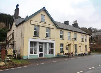 Thumbnail Pub/bar for sale in Ceredigion - Substantial Village Inn SY25, Pontrhydygroes, Ceredigion