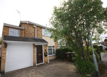Thumbnail 3 bed semi-detached house for sale in Dalley Close, Syston, Leicester