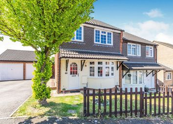 Thumbnail 3 bed semi-detached house for sale in Hardy Close, Walderslade, Chatham