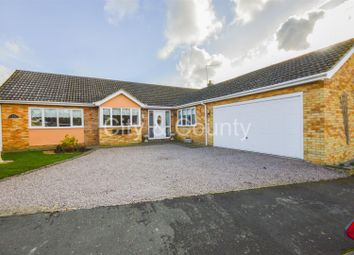 Thumbnail 4 bed detached bungalow for sale in Lawrance Way, Thurlby, Bourne