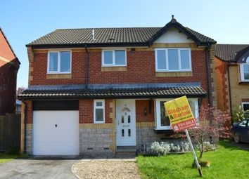 Thumbnail 4 bed detached house for sale in Darmead, Weston-Super-Mare