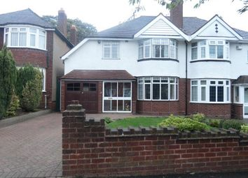 Thumbnail 3 bed semi-detached house for sale in Greenside Road, Erdington, Birmingham