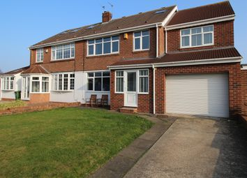 Thumbnail 5 bedroom semi-detached house for sale in Lonsdale Avenue, Sunderland