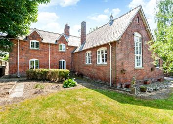 Thumbnail 4 bedroom detached house for sale in Ogbourne St. Andrew, Marlborough, Wiltshire