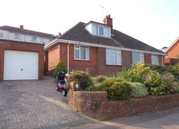 Thumbnail 2 bed semi-detached bungalow for sale in Ashleigh Road, Exmouth