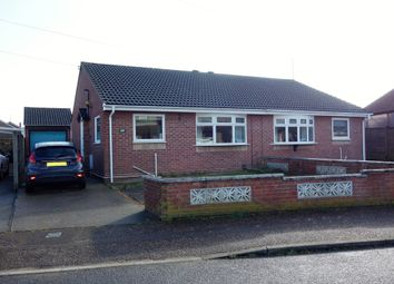 Thumbnail 2 bed semi-detached bungalow for sale in Lark Way, Bradwell, Great Yarmouth