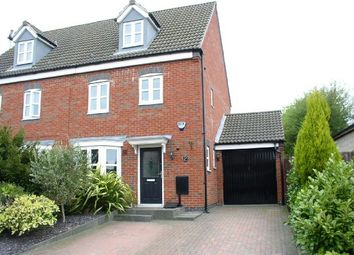 Thumbnail 4 bedroom semi-detached house for sale in Carnfield Close, South Normanton, Alfreton