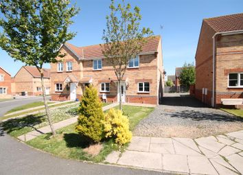 Thumbnail 2 bed end terrace house for sale in Regent Court, South Hetton, Durham
