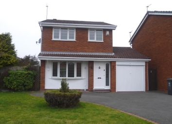 Thumbnail 3 bedroom detached house to rent in Clover Dale, Perton, Wolverhampton