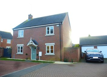 Thumbnail 4 bed detached house for sale in Inniskilling Close, Moulton, Northampton