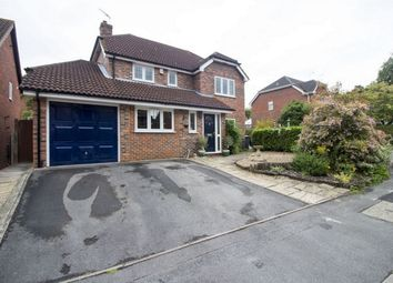 Thumbnail 4 bedroom detached house for sale in Longmead, Church Crookham, Fleet