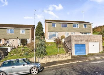 Thumbnail 3 bed semi-detached house for sale in Coombe Road, Saltash