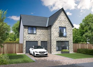 "Thumbnail 4 bed detached house for sale in ""Hutton Garden Room"" at Beech Path, East Calder, Livingston"