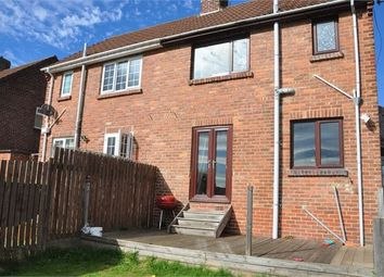 Thumbnail 2 bed semi-detached house to rent in Burnhopeside Avenue, Lanchester, Durham.