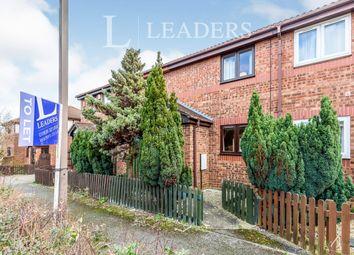 Thumbnail 1 bed terraced house to rent in Primatt Crescent, Shenley Church End, Milton Keynes