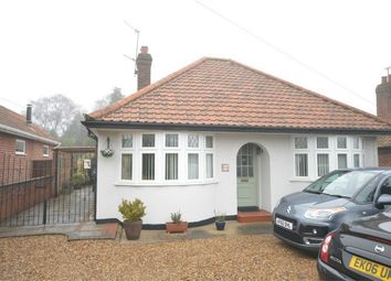 Thumbnail 3 bed detached bungalow for sale in St Williams Way, Thorpe St Andrew, Norwich