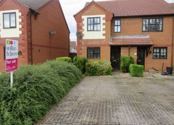 Thumbnail 2 bed end terrace house for sale in St. Annes Way, Spalding