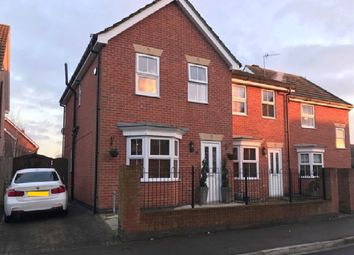 Thumbnail 3 bedroom semi-detached house for sale in Captains Close, Goole