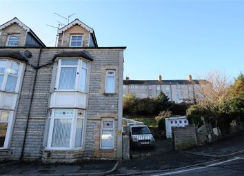 Thumbnail 4 bed end terrace house for sale in Courtenay Road, Barry