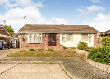 Thumbnail 3 bed detached bungalow for sale in Laxton Way, Whitstable