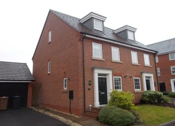 Thumbnail 3 bed property to rent in Mary Slater Road, Lichfield