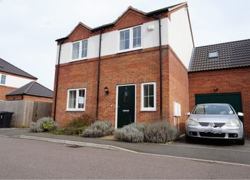 Thumbnail 4 bed link-detached house for sale in Union Mill Close, Leicester