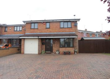 Thumbnail 4 bedroom detached house for sale in Finchdean Close, Meir Park