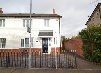 Thumbnail 3 bed end terrace house for sale in Marsh Crescent, Rowhedge, Colchester, Essex