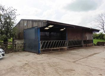 Thumbnail Farm for sale in Swainsley Road, Leek, Staffordshire