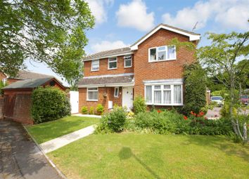 Thumbnail 4 bed detached house for sale in Irston Way, Freshbrook, Swindon