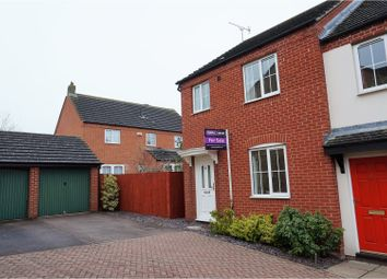 Thumbnail 3 bedroom end terrace house for sale in Cramswell Close, Haverhill