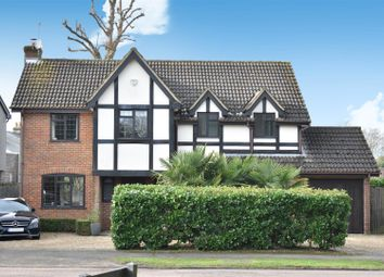 Thumbnail 5 bed detached house for sale in Oakfield Road, Ashtead