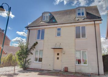 Thumbnail 5 bed detached house for sale in Brickton Road, Hampton Vale, Peterborough