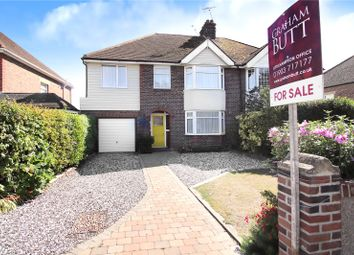 Thumbnail 4 bed semi-detached house for sale in Cornwall Road, Littlehampton