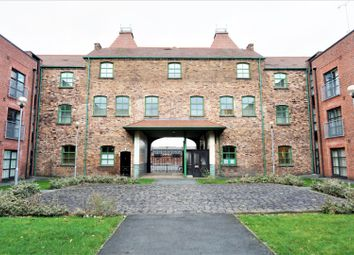 Thumbnail 1 bed flat for sale in Hartley Court, Cliffe Vale, Stoke-On-Trent