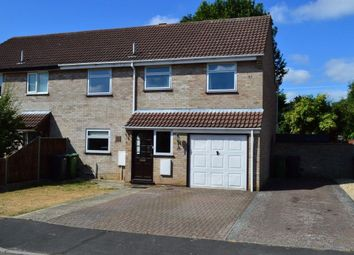Thumbnail 4 bed semi-detached house to rent in Mill Croft Close, New Costessey, Norwich