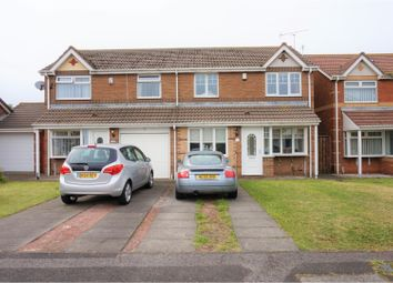 Thumbnail 4 bed semi-detached house for sale in Telford Close, Hartlepool