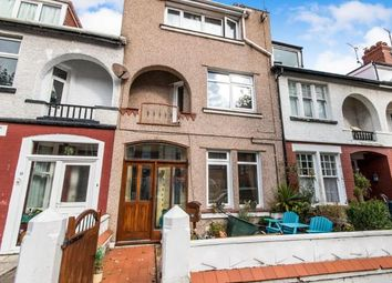 Thumbnail 4 bed terraced house for sale in Victoria Avenue, Llandudno, Conwy